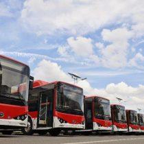 Así son los nuevos buses eléctricos que se incorporarán al Transantiago