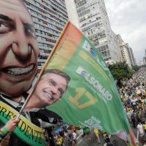 [Lo+comentado] Bolsonaro a todo Trump: ultraderechista queda como el gran favorito para la segunda vuelta en Brasil