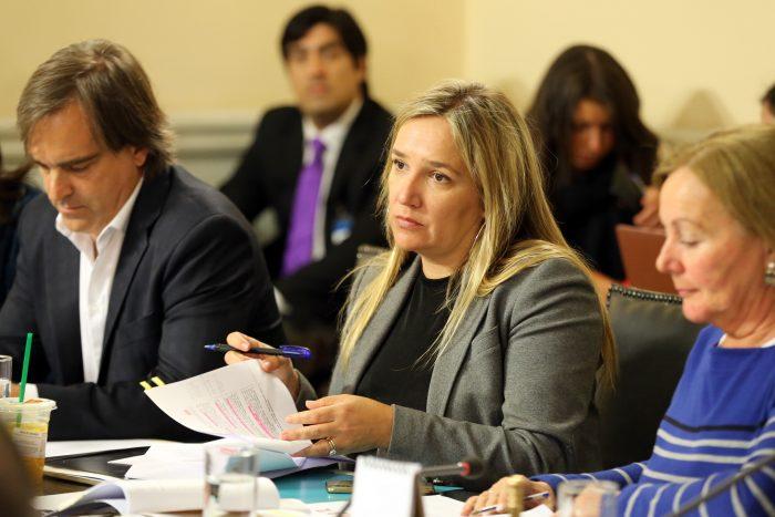 Diputada Hoffmann y sanción a alcaldesa Barriga:
