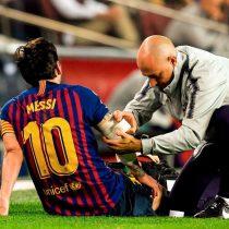 La escalofriante lesión de Lionel Messi que deja en suspenso su participación en el clásico español