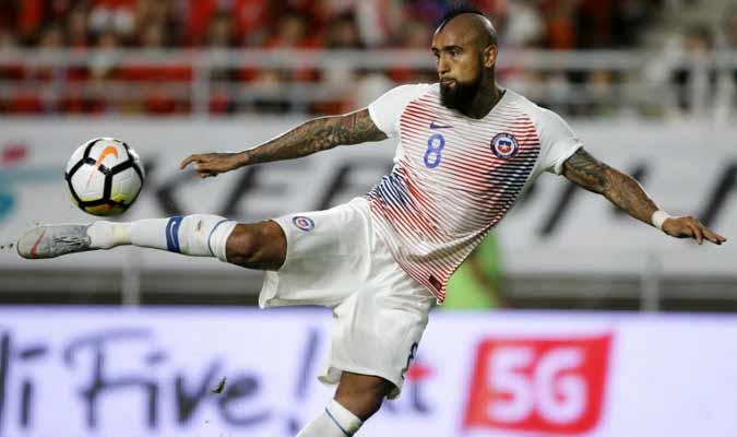 Arturo Vidal en la antesala al amistoso contra México: