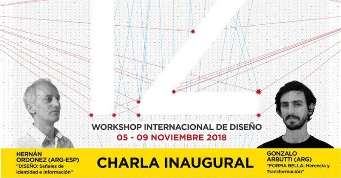 Conferencia de destacados diseñadores Hernán Ordoñez y Gonzalo Arbutti en Universidad Finis Terrae
