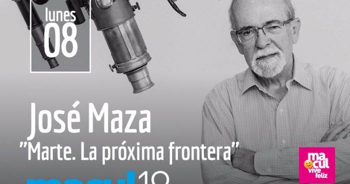 """Cátedra del Futuro """"Marte. La próxima Frontera""""  en Comuna de Macul"""