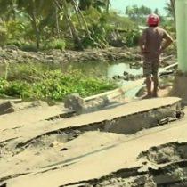 Terremoto y tsunami en Indonesia: cómo el suelo se