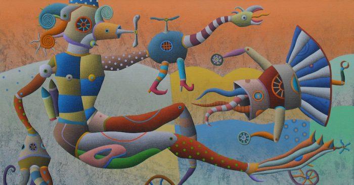 "Exposición ""Agnostos Theos"" de Oscar Barra en Casa Autónoma del Arte y Cultura"