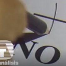El emotivo regreso de TeleAnálisis: a 30 años del triunfo del No