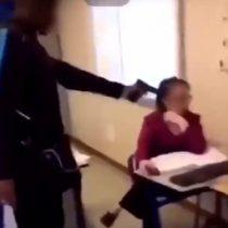 Estudiante francés amenaza a profesora con un arma de aire comprimido