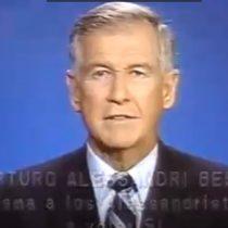 Plebiscito 1988: Arturo Alessandri Besa llama a los alessandristas a votar SÍ