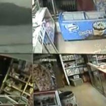 Ladrón fue sacado a escobazos por robar en un negocio y luego se suicidó en la cárcel de Magallanes