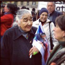 Ana González, se fue buscando verdad y justicia