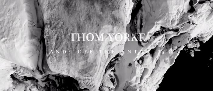 Líder de Radiohead lanzó un tema en apoyo a la campaña por un Santuario Antártico de Greenpeace: