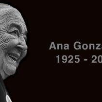 El dolor y lucha inagotable de Ana González que partió sin hallar verdad ni justicia