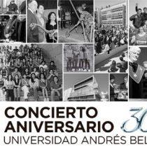 """Concierto Aniversario 30 años UNAB """"Las Estaciones de Vivaldi y Piazzolla"""