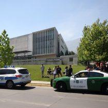 Falsa alarma: Carabineros descartó bomba en universidades en San Carlos de Apoquindo