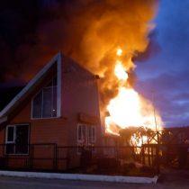 Incendio consume la Municipalidad de Dalcahue