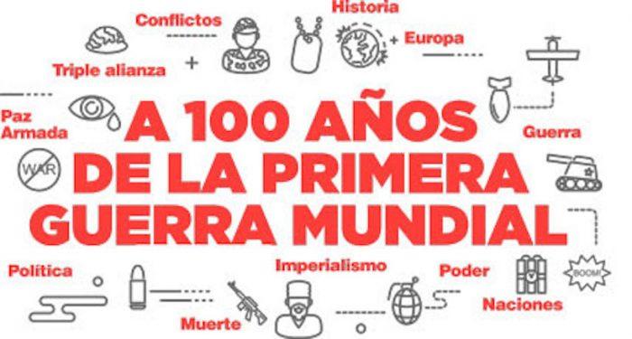 """Encuentro Cultural """"A cien años de la Primera Guerra Mundial"""" en Cultural en la Casona de las Condes, UNAB"""