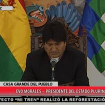 """Un descolocado Evo Morales aún no se repone del fallo de La Haya: """"Tiene enormes contradicciones"""""""