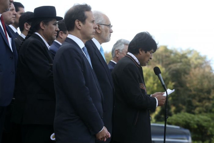 Evo Morales no se da por vencido: