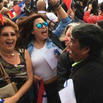 Antofagastinos celebran con euforia el fallo de La Haya
