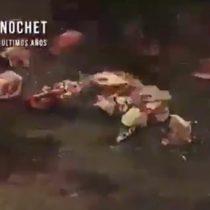 El día que los fanáticos de Pinochet quemaron y lanzaron huesos a los familiares de los detenidos desaparecidos