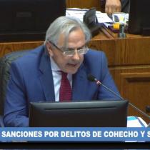 Incluso con el voto de Iván Moreira, el Senado aprueba proyecto anticorrupción que eleva las sanciones por cohecho y soborno