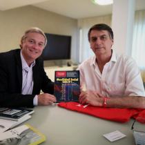 Kast se reunió con Bolsonaro en Brasil: