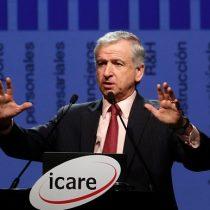 Felipe Larraín se cuadra con Piñera y alaba planes económicos de Bolsonaro