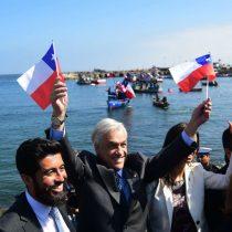 """24 horas después, Piñera se acuerda de Bachelet por La Haya: """"Tuvo una actitud firme y clara en defensa de nuestro país"""""""