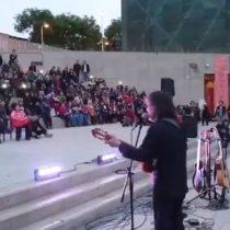 La canción que le dedicó Roberto Márquez a Ana González en el Museo de la Memoria