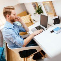 Cómo trabajar desde el hogar sin caer en la tentación de acostarte en la cama