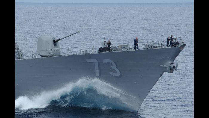 China denuncia la entrada ilegal de un buque de guerra de EE.UU. en sus aguas