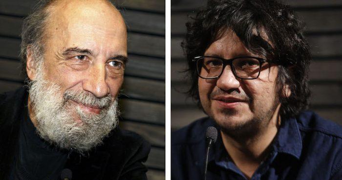Lectura de textos literarios con Raúl Zurita y Alejandro Zambra en Facultad de Comunicación y Letras UDP