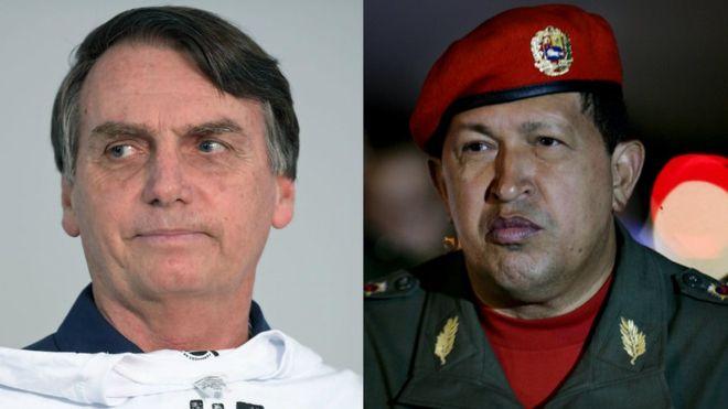 Las sorprendentes semejanzas entre el Brasil que eligió al ultraderechista Bolsonaro y la Venezuela que escogió a Hugo Chávez hace 20 años