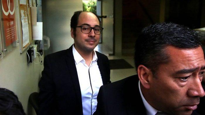 Nicolás López declara en la Fiscalía Oriente por acusaciones de abuso sexual