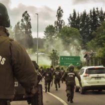 Habría una mujer embarazada herida: denuncian violento operativo del Comando Jungla en Ercilla