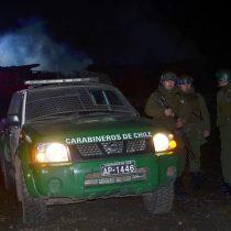 Así quedó el vehículo de Carabineros tras emboscada en Cañete