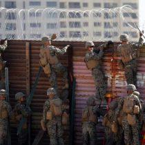 Caravana de migrantes llega a la frontera entre México y EE. UU.