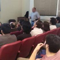 Alumnos de la Universidad de Concepción se instruyen en la Plataforma Integral de Aprendizaje y Capacitación Energética