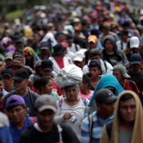 Caravana migrante abandona en su totalidad Ciudad de México rumbo a Estados Unidos