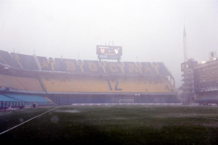 Suspenden por lluvia el Boca Juniors-River Plate de la ida de la final