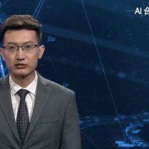 China presenta conductores de noticias creados a partir de inteligencia artificial