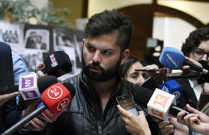 Boric desdramatiza reunión con Palma Salamanca: