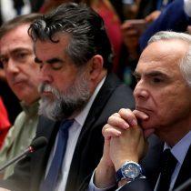 El momento en que Andrés Chadwick en sesión especial dice que no renunciará