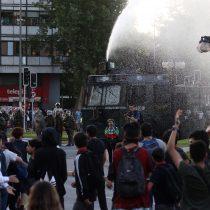 Manifestaciones por muerte de Camilo Catrillanca generan cortes en La Alameda