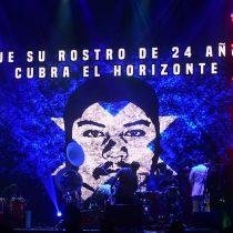 Banda Conmoción rindió tributo a Camilo Catrillanca en el Copihue de Oro