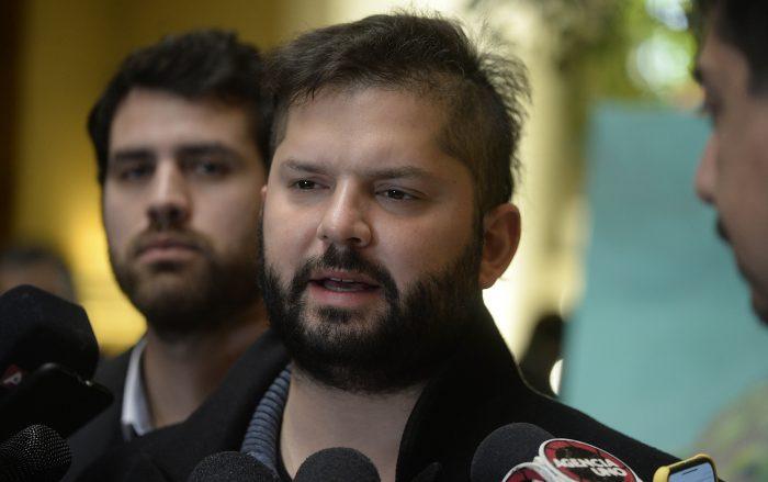 Comisión de Ética de la Cámara declara admisible recurso contra Boric y Orsini por reunión con Palma Salamanca