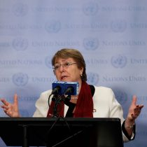 Al fin aparece Bachelet para hablar del crimen de Catrillanca: pide