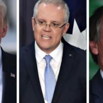 El cambio climático para Trump, Morrison y Bolsonaro: la absurda política de tirar todo por la borda