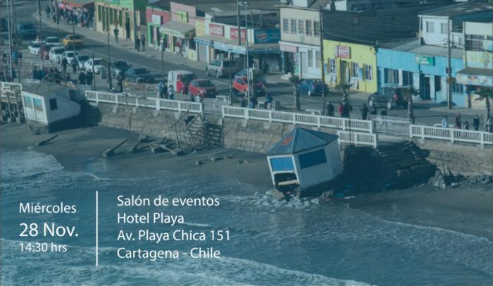 """Seminario """"Planificación territorial y riesgo en zonas costeras"""" en Cartagena"""