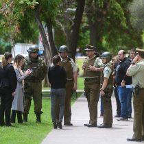 Tensión en Santiago centro: Carabineros detuvo a joven que efectuó más de 12 disparos desde su departamento